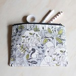 Bear, deer & woodland creatures Zipped Pouch or Pencil case