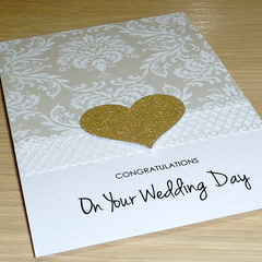 Wedding Day congratulations card
