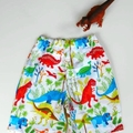 "Sizes  4 ""Dinosaur"" Shorts"