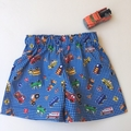 "Size 6 to 9 Months ""Multi Vehicles"" Shorts"