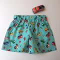 "Size 6 to 9 months ""Multi Vehicles Shorts"""