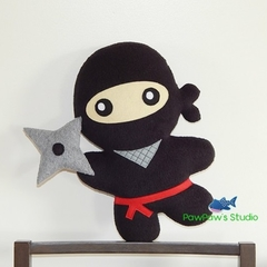 Ninja Pillow Plush Toy Softie Home Decor Nursery