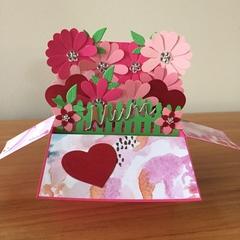 Pop up birthday card, mother pop up card, birthday card