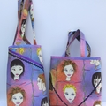 SALE Miss Pretty tote shopping all purpose bag