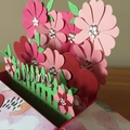 Pop up birthday card, mother pop up card, birthday card