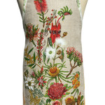 Metro Retro 'Australian Wildflowers' Vintage Apron - Birthday Mother's Day Gift
