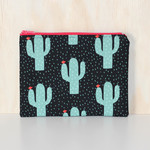 Cactus zipped Pouch or Pencil case