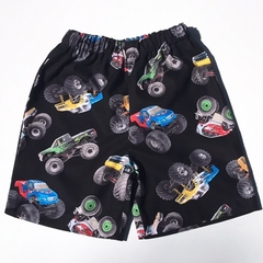 "Size 2 ""Monster Truck"" Shorts"