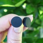 Black earrings, black stud earrings, everyday earrings, small stud earrings
