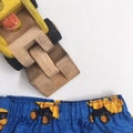 """Sizes  2 """"Backhoes and Diggers"""" Shorts"""