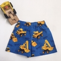 "Sizes  2 ""Backhoes and Diggers"" Shorts"