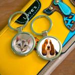 Pet Photo Keyring