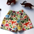 "Sizes 6 to 9 Months   ""Dancing Dinos""Shorts"