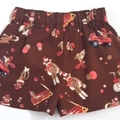 "Sizes 1 and 2 ""Monkey Business"" Shorts"