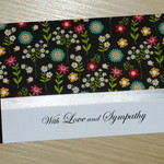 Sympathy - bereavement card