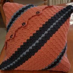 Crochet Mood Pillow
