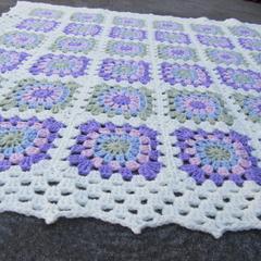 Victorian Granny Square Blanket