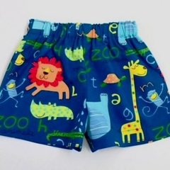 "Sizes 6 to 9 months & Size 1 ""Zoo Animals"" Shorts"