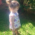 Baby Girl Boho Dress Teepees Suede Fringe Size 1