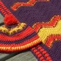 Crochet Ripple Blanket & Beanie