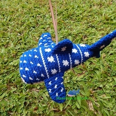 Whale Shark / Whale Shark Ornament / Crochet Whale Shark / Shark Decoration