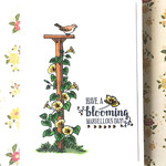 'Have A Blooming Marvellous Day' Floral Garden Themed Handmade C6 Card