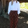 Comfy cotton gothic pants!