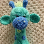 Giraffe, READY TO POST, Crochet Toy, Boy Gift