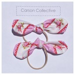 Knot Hair Ties. Pink. Shabby Chic Inspired. Free Post. Carson Collective.