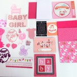 Card making kit (Baby girl and boy)