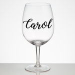 Vinyl Name Decal | Name Sticker | Water Bottle Decal