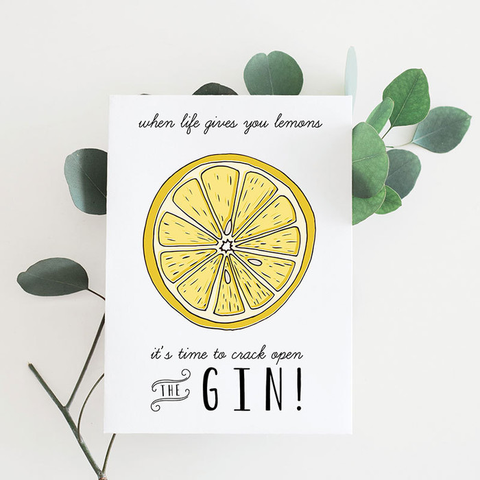When life gives you lemons greeting card misiu papier madeit when life gives you lemons greeting card m4hsunfo