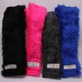Camera Strap Covers. Fluffy faux fur is soft against your neck. Not harsh