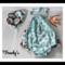 GORGEOUS RUFFLED ROMPER onesie WITH BONNET