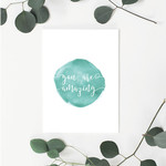 You are Amazing (Blue) Greeting Card