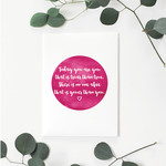 Today you are you (Dr. Seuss) Pink Greeting Card