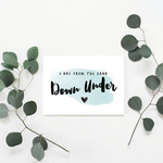 Downunder Greeting Card
