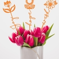 Word flowers.