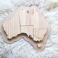 Wood Puzzle Australia Learning Geography Teacher gifts Kids wooden toys