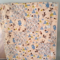 Baby quilt and cushion cover baby girl woodland