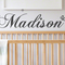 2 Personalised Name wall decal | childrens nursery | gift| Baby shower