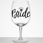 Bridal Vinyl Name Decal | Name Sticker | Water Bottle Decal