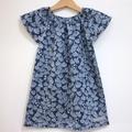 dress - gum blossom / organic cotton peasant-style / eco friendly / girl 1 year