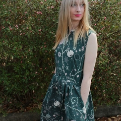 Floral lullaby dress available in 5 sizes!
