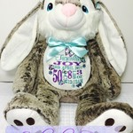 "Personalised Embroidered Bears ""Bunny Rabbit"""