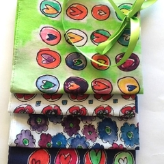 Hanky Gift Set - 4 designs.