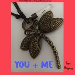 YOU + ME adjustable necklace