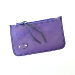 Elliot Coin/Card Pouch: Purple