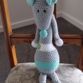 Maurice the house mouse: Unisex, OOAK, washable, crochet