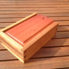Jewelley box with sliding lid